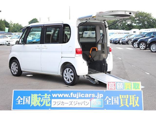 北海道から沖縄まで全ての都道府県に納車実績があります福祉車両 スローパー 車イス1台 後退防止ベルト 車いす電動固定