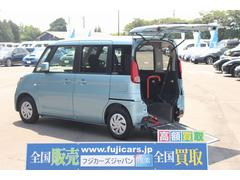 スペーシア福祉車両 スロープ 車椅子1基 電動ウインチ 自動ブレーキ