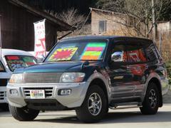 パジェロロング エクシード−II 4WD 背面タイヤ HID フォグ