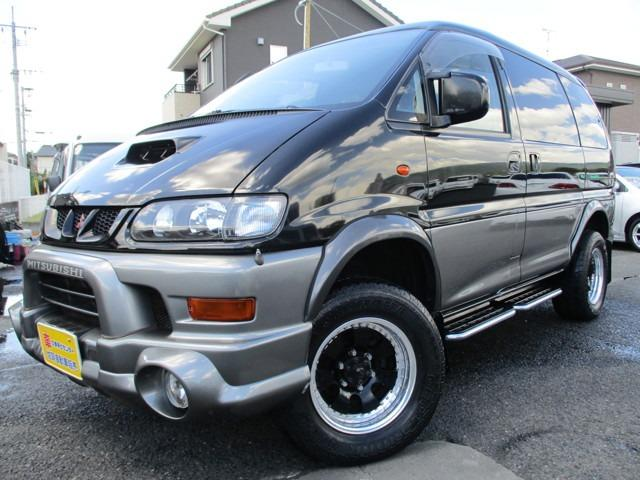 三菱 デリカスペースギア シャモニー 4WD ディーゼルターボ (...