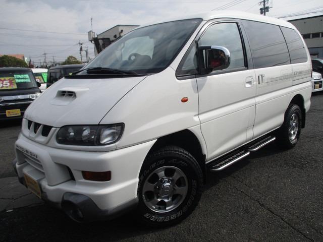 三菱 デリカスペースギア シャモニー ハイルーフ 4WD (検29.4)