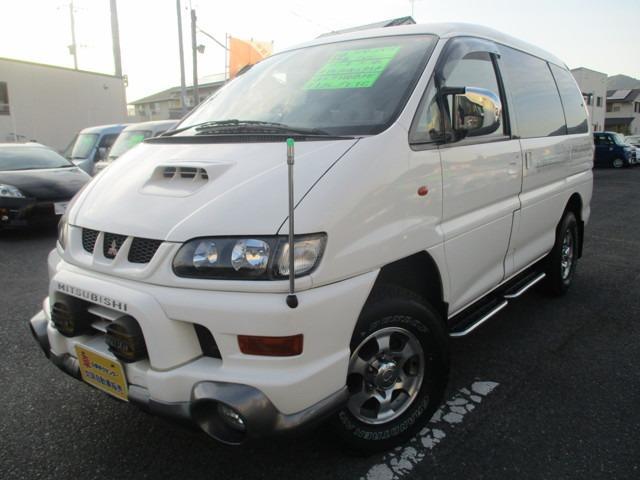 三菱 デリカスペースギア シャモニー HR 4WD ディーゼルター...
