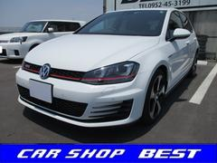VW ゴルフGTIベースグレード DCCパッケージ・黒レザー・純正ナビTV