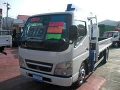 キャンタークレーン付トラック 5段クレーン ラジコン付 3トンベース