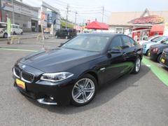 BMW528i Mスポーツ 黒革シート・HDDナビ・Bカメラ