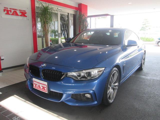 BMW 4シリーズ 420iクーペ Mスポーツ 純正ナビ フルセグ...