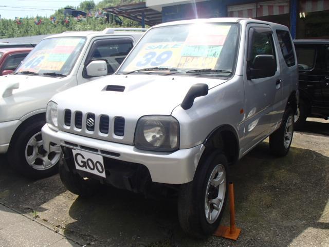 スズキ XC  4WD ターボ 2インチリフトUP 5MT