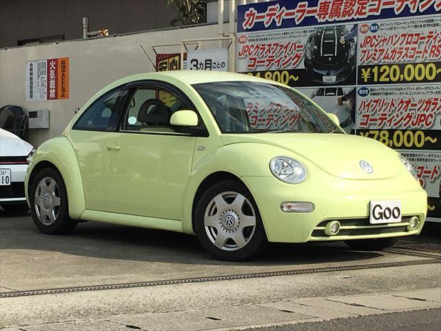 フォルクスワーゲン ニュービートル パステル 350台限定車 純正...