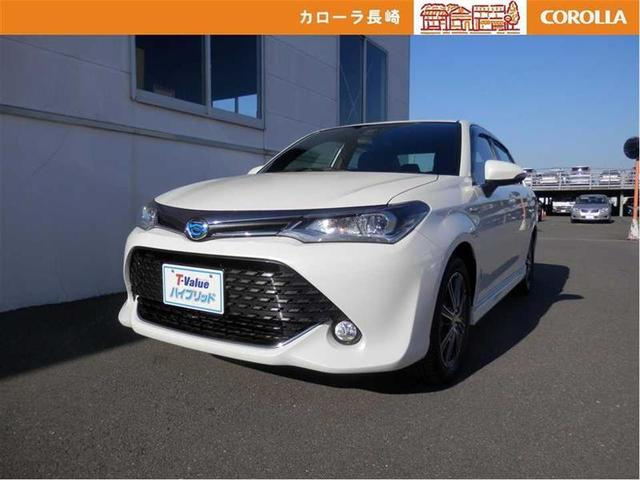 Photo of TOYOTA COROLLA AXIO HYBRID G W×B / used TOYOTA