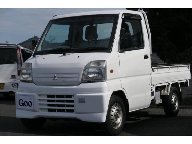 三菱 ミニキャブトラック Vタイプ 4WD エアコン パワステ (なし)