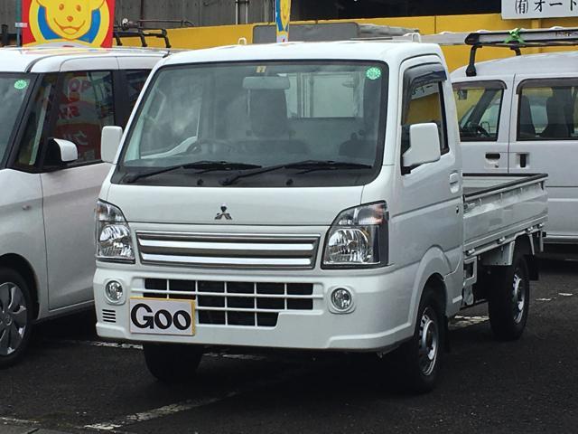三菱 ミニキャブトラック G 4WD エアコン パワステ パワーウ...