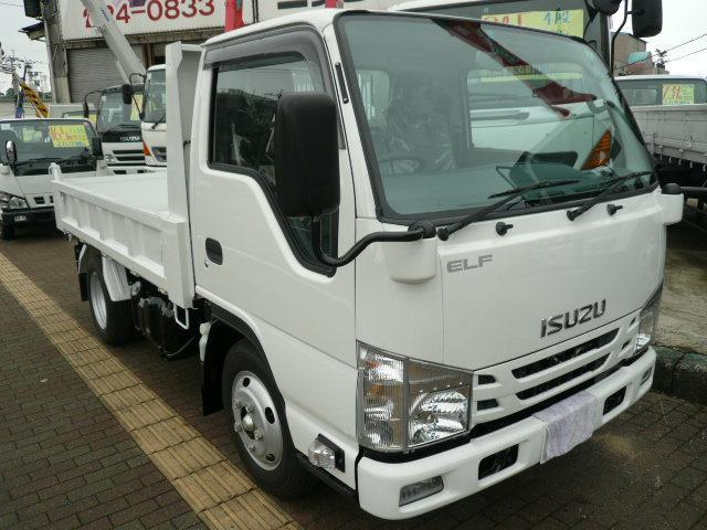 いすゞ エルフトラック 3t 強化ダンプ (検30.10)