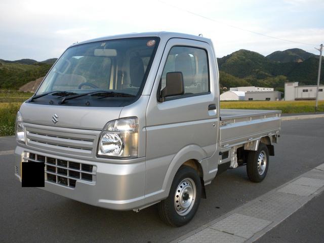スズキ KCエアコン・パワステ 4WD 未使用車