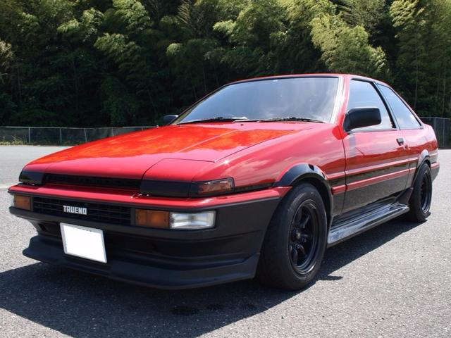 トヨタ GT APEX 車高調 社外EXマニ ワタナベ7.5J