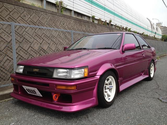 トヨタ GT APEX RAYS TE37GRAVEL