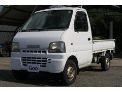 キャリイトラックKU 三方開 4WD 記録簿 エアコン パワステ