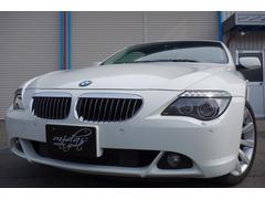 BMW650i HDDナビ パノラマルーフ 後期仕様 黒革 左H