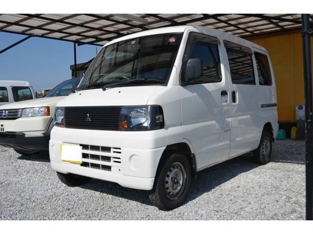 三菱 ミニキャブバン CD ハイルーフ 5速ミッション車 (車検整備付)