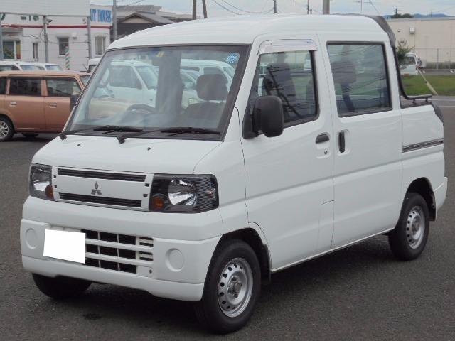 三菱 ミニキャブバン デッキバン エアコン パワステ ETC (車...