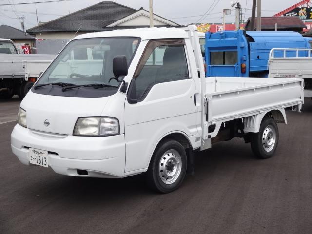 日産 バネットトラック 0.85t 平ボディ エアコン パワステ ...