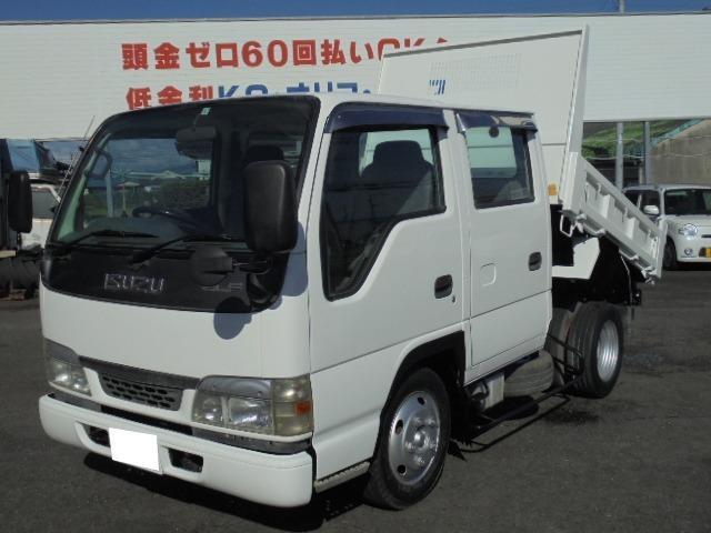いすゞ エルフトラック Wキャブダンプ 2.0t (検30.3)