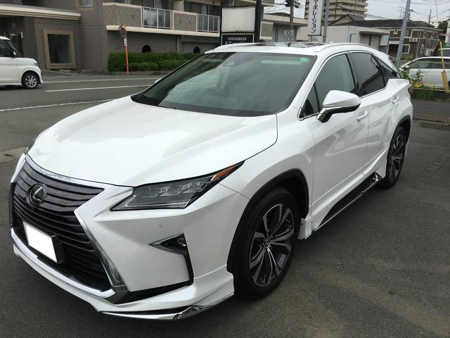 lexus rx rx200t version l 2016 pearl 12 000 km details japanese used cars goo net exchange. Black Bedroom Furniture Sets. Home Design Ideas