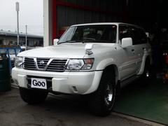 サファリグランロード 4WD ディーゼル カロッツェリアナビTV