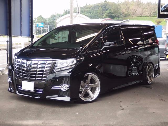 トヨタ 2.5S Cパッケージ 車高調HKS 両側パワースライド