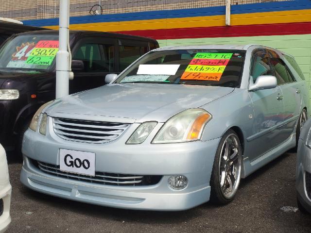 トヨタ 2.5iR-S 社外19インチAW 車高調 HDDナビ