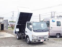 キャンター低床ダンプ NOxPM適合車 最大積載量2000kg