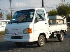 サンバートラックエアコン 5MT 4WD ラジオ 荷台作業灯
