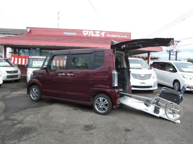 ホンダ N BOX+カスタム G 車いす仕様車 スローパー (検3...