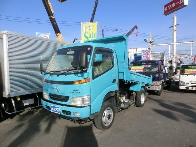 トヨタ 4WDダンプ 積載2000kg