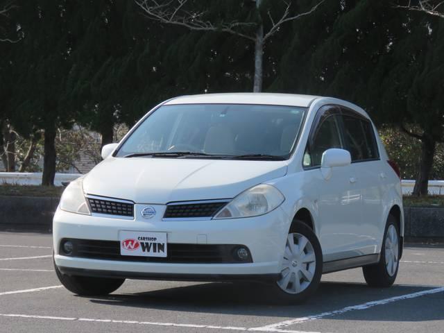 日産 ティーダ 15S ハーフレザーシート (車検整備付)