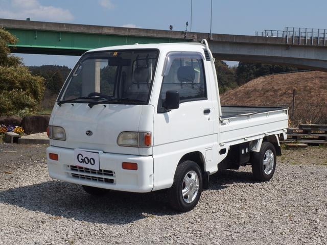 スバル サンバートラック ベースグレード 4WD 5速マニュアル車...