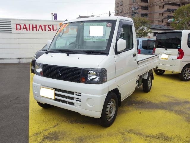 三菱 ミニキャブトラック Vタイプ 5速マニュアル車 4WD (検...