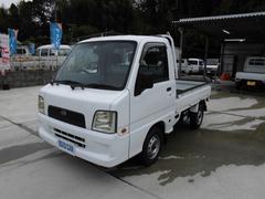 サンバートラックサンバーT 2WD AT 社外CD・MD エアコン付き!