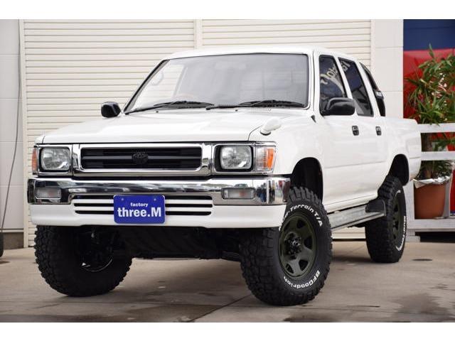 トヨタ ダブルキャブ SSR-X ロングボディ ディーゼル 4WD
