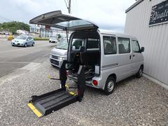ミニキャブバン福祉車両 リヤー電動リフト 車椅子電動固定