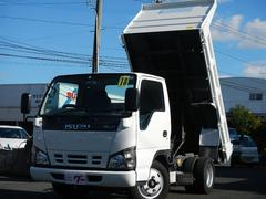 エルフトラック2t 強化フルフラットローダンプ DPD車 ETC