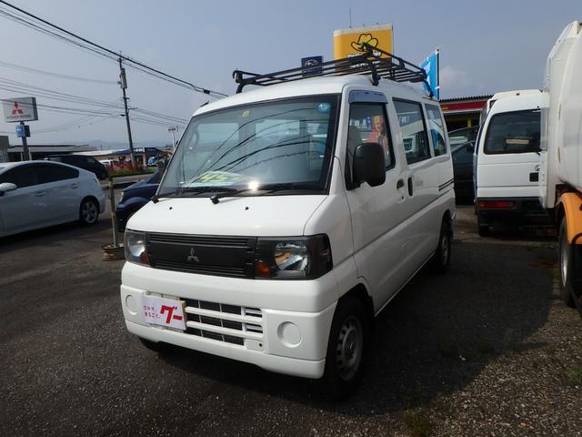 三菱 ミニキャブバン LPG車 5速ミッション車 ルーフラック (...