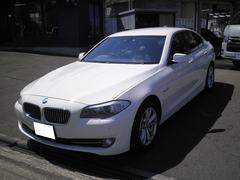 BMW523i ハイラインパッケージ ワンオーナー 黒革 ナビTV