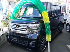 N BOXカスタムG・ターボパケ 4WD ワンオーナー Gエンブレム