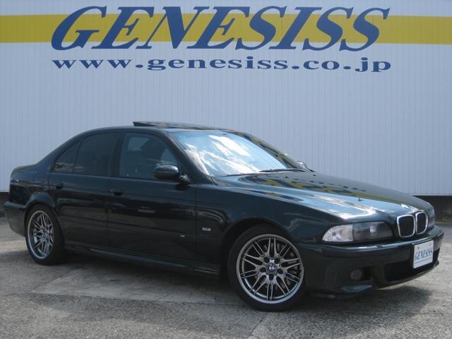 BMW M5 サンルーフ レザーシート 純正18インチアルミアルミ