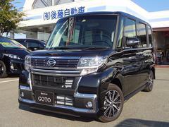 タントカスタムX トップエディションSAII 4WD 新品ナビTV