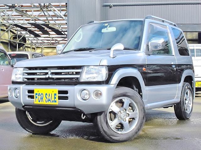 三菱 パジェロミニ リミテッドエディションXR 切替式4WD 15...