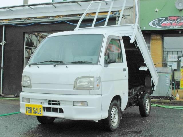ダイハツ ハイゼットトラック 電動油圧式ローダンプ 4WD エアコ...