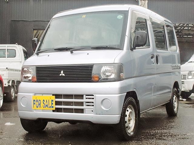 三菱 ミニキャブバン CD 切替式4WD エアコン パワステ (車...