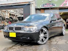 BMW735i DSC ブラックレザー SR 左H 22インチAW