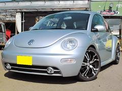 VW ニュービートルベースグレード ESP レザーシート ローダウン 18AW